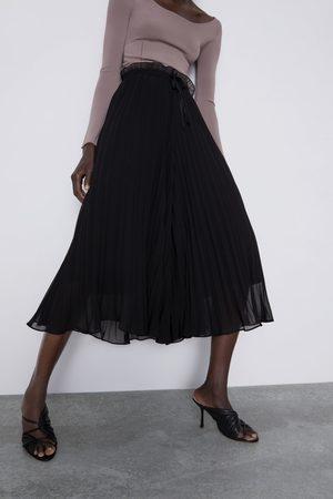 Zara Culotte bukser med læg