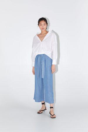 Zara Paperbag culottebukser