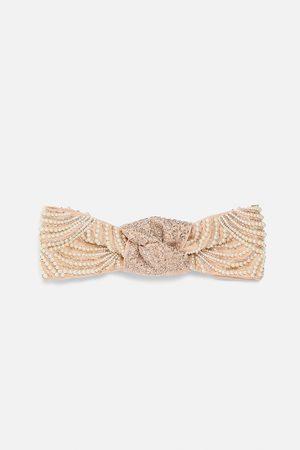 Zara Hårbånd med rhinsten og perler