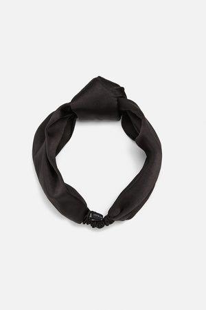 Zara Hårbånd med satin look