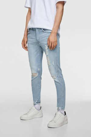 Zara Skinny jeans med flossede buksebenskanter