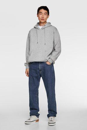 Zara Basic sweatshirt med hætte