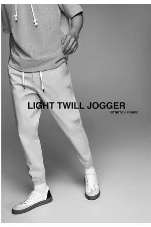 Zara Strukturvævede joggingbukser