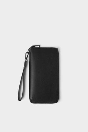 Zara Smart mønsterpræget xl tegnebog