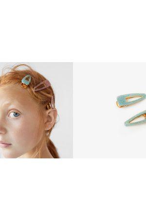 Zara 2-pak med glitterhårklips