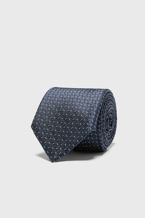 Zara Bredt, jacquardvævet slips med ruder
