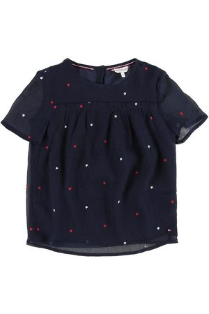 Tommy Hilfiger T-shirt - Star Embroidered - Black Iris