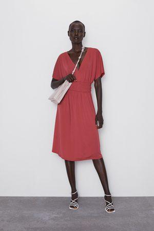 Zara Kjole med elastisk bælte