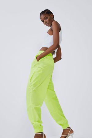 Zara Nylon joggingbukser