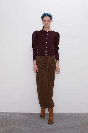 Zara Kvinder Cardigans - Strikket cardigan med knapper