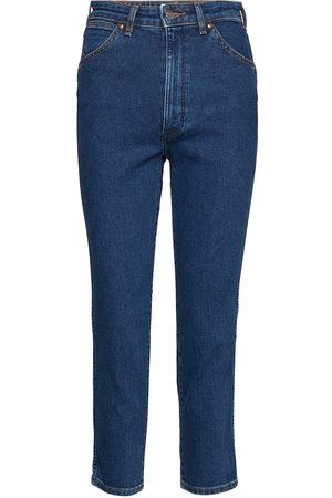 Wrangler Kvinder Baggy - 11wwz Boyfriend Jeans Blå