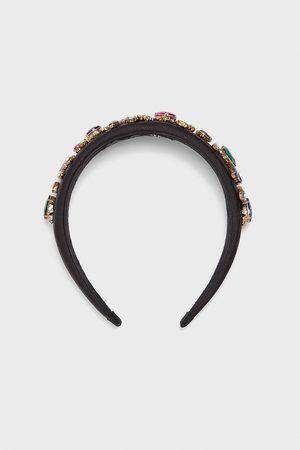 Zara Smykkebesat hårbøjle i satin