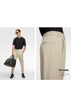 Zara Rejsebukser i chino-stil med 4-way-stretch
