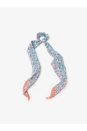 Zara Mønstret tørklæde med detalje i stretch