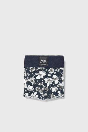 Zara Boxershorts med blomster print