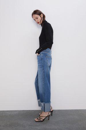 Zara Jeans z1975 opsmøget sømkant