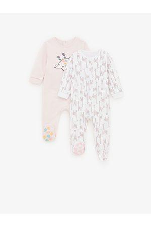 Zara 2-pack of giraffe pyjamas