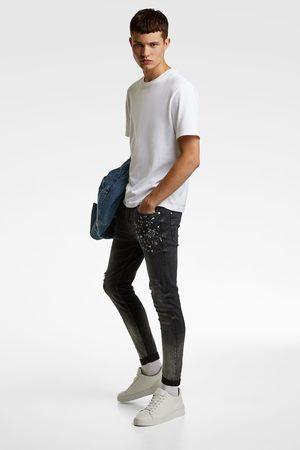 Zara Forvaskede skinny jeans