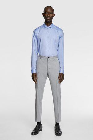 Zara Mænd Plet-fri skjorte med struktur