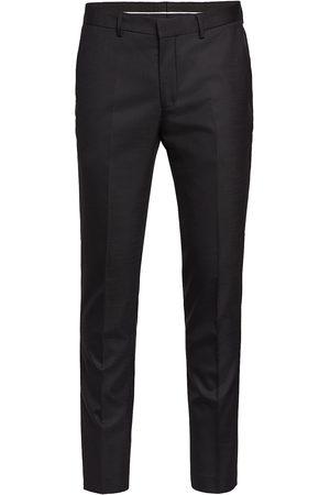 Selected Slhslim-Mylostate Flex Black Trs B Noos Habitbukser Stylede Bukser