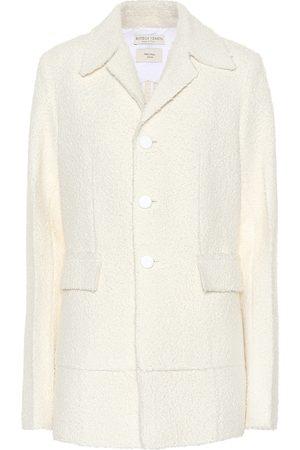 Bottega Veneta Wool-blend bouclé jacket
