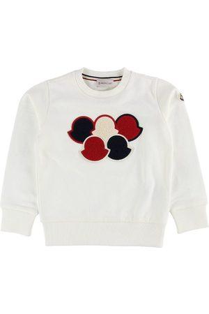 Moncler Sweatshirts - Sweatshirt - Creme m. Print
