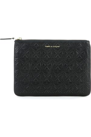 Comme des Garçons Wallet in black cow leather