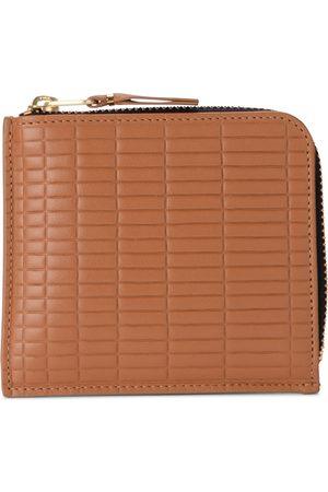 Comme des Garçons Brick Line leather wallet