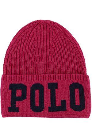 Ralph Lauren Poloer - Polo Hue - Akryl/Uld - Mørk m. Tekst
