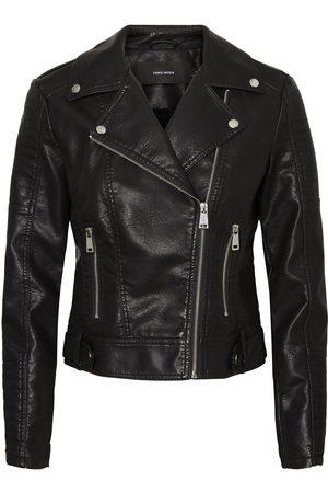 Vero Moda Coated Jacket Kvinder Sort