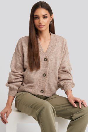 NA-KD Kvinder Cardigans - Short Button Front Cardigan