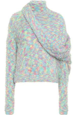 Y / PROJECT Asymmetric turtleneck sweater