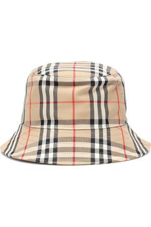 Burberry Kvinder Hatte - Vintage Check cotton bucket hat