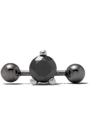DELFINA DELETTREZ Two In One Pierced-diamantørestikker i 18 karat hvidguld