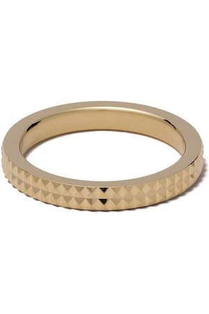 Le Gramme Pyramid Guilloche-ring