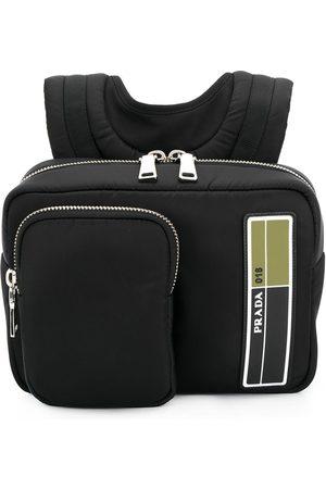 Prada Lille rygsæk med lynlås