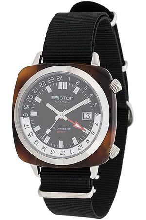 Briston Watches Clubmaster GMT traveller acetate-ur