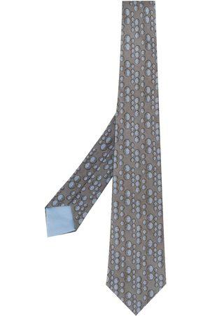 Hermès Mænd Slips - Slips med bobbeltryk fra 00'erne