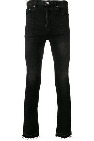 Saint Laurent Skinny-jeans med rå kant