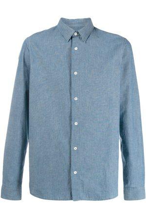 A.P.C Mænd Langærmede - Klassisk skjorte med knapper