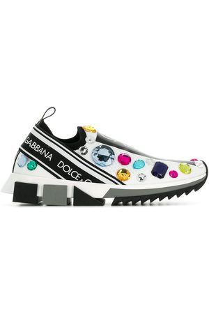 Dolce & Gabbana Slip-on-sneakers med udsmykning