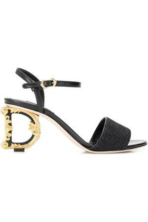 Dolce & Gabbana Kvinder Sandaler - Sandaler med DG-hæl