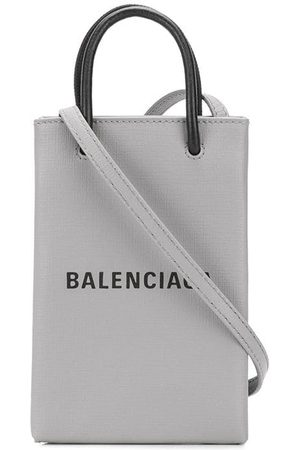 Balenciaga Crossbody-taske med logotryk