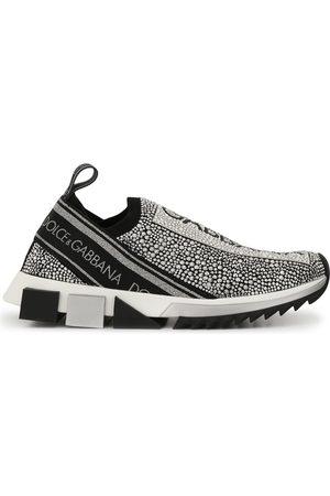 Dolce & Gabbana Kvinder Sneakers - Sorrento crystal embellished sneakers