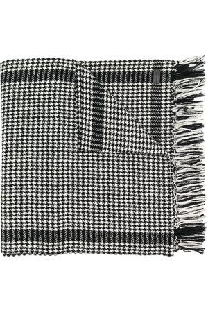 Saint Laurent Mænd Tørklæder - Tørklæde med houndstooth-mønster