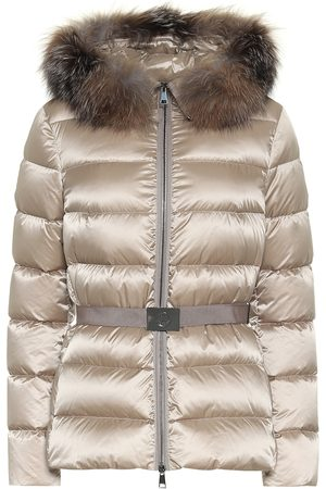 Moncler Tatie fur-trimmed down jacket
