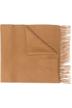 MACKINTOSH Broderet tørklæde i kashmir