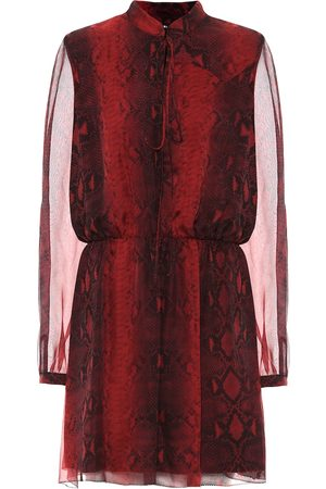 AMIRI Printed silk minidress