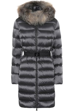 Moncler Tinuv fur-trimmed down coat