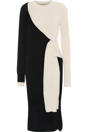 Bottega Veneta Kvinder Casual kjoler - Wrap sweater dress
